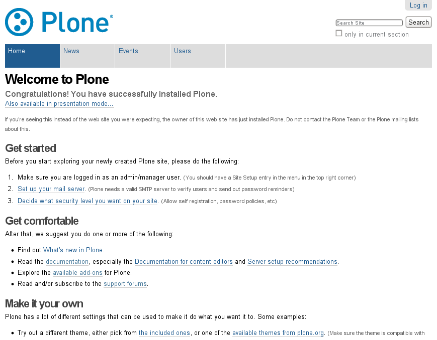 13 plone user accounts and roles plone vs facebook for Web documentation software
